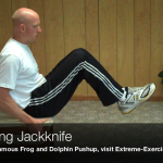Balancing Jackknife045 150x150 Body Weight Exercises   A Complete List