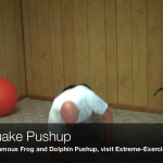 Earthquake Pushup040 150x150 Body Weight Exercises   A Complete List