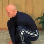 Frog Sit Stretch 150x150 List of Stretches and Routines