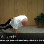 Missing Arm Hold080 150x150 Body Weight Exercises   A Complete List