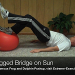 One legged Bridge on Sun151 150x150 Body Weight Exercises   A Complete List
