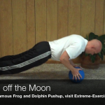 Pushup off the Moon Exercise