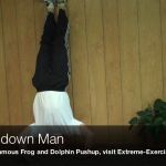 Upside down Man Exercise