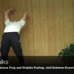 Wall Walks0106 150x150 Body Weight Exercises   A Complete List