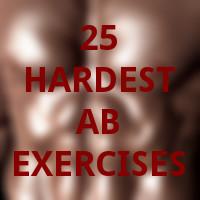 25 hardest ab exercises