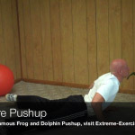 barbwire pushup