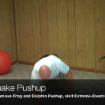 earthquake pushup
