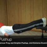 falling pushup