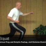 karate squat