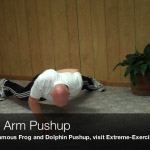 missing arm pushup