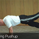 three pronged pushup