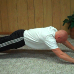 Stretch Walk Push up