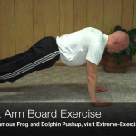 straight arm board