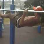 Hanging Ab Kick Outs 150x150 Top 100 Hardest Body Weight Exercises Of All Time & How You Can Master Each Of Them