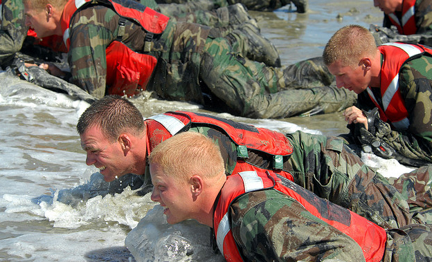 beach crawling us navy seal training program