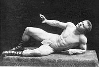 old school bodyweight master Eugene Sandow, Father of Modern Bodybuilding