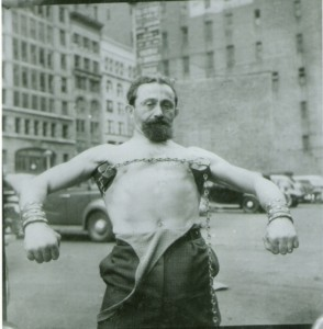 old school bodyweight master The Mighty Atom