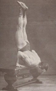old school bodyweight master Sig Klein