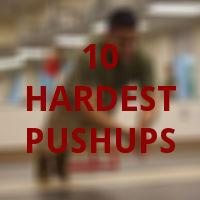 10 hardest pushups