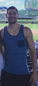 Paul, SOA's host, at a ballgame