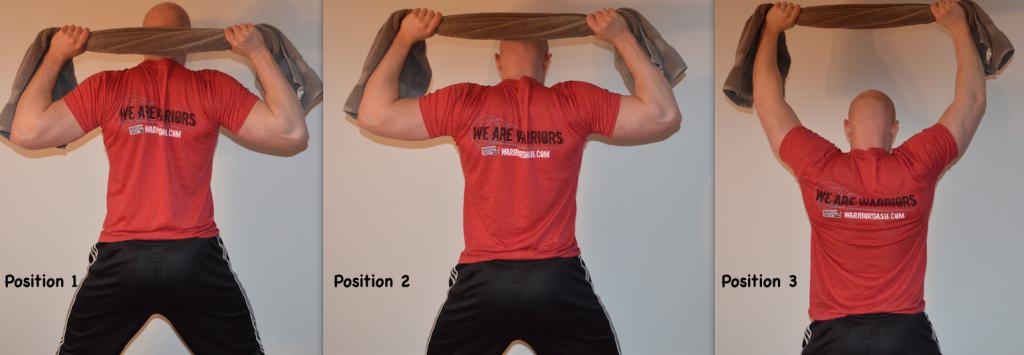 behind neck shoulder pull otwel isometrics