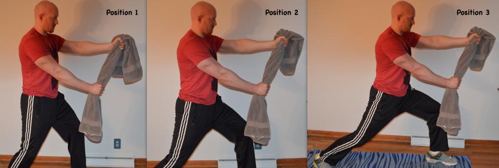 rope pulling towel isometrics