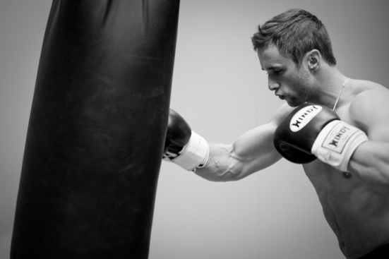 Chad Howse boxing