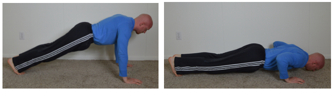 Regular Push Ups will work mostly the middle part of the chest muscle group.
