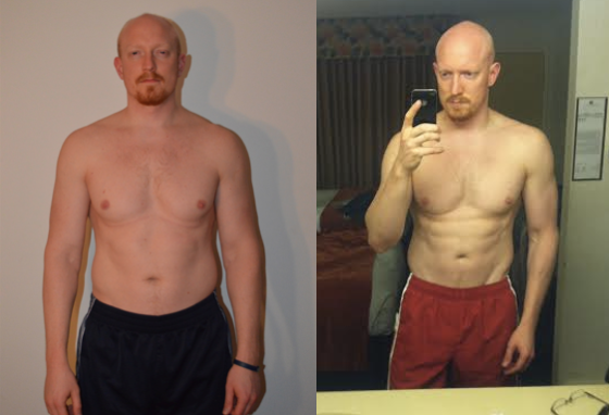 One month results.