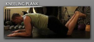Kneeling Plank 300x134 9 Plank Progressions Everyone Should Be Using