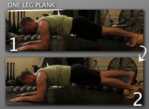 One Leg Plank 300x221 9 Plank Progressions Everyone Should Be Using