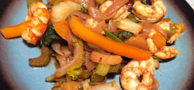 How to Make Asian Shrimp Stir-Fry