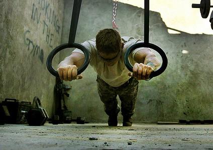 bodyweight hypertrophy ring pushups