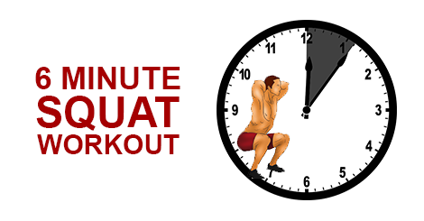 Mad Monday: The 6 Minute Pulse Squat Workout