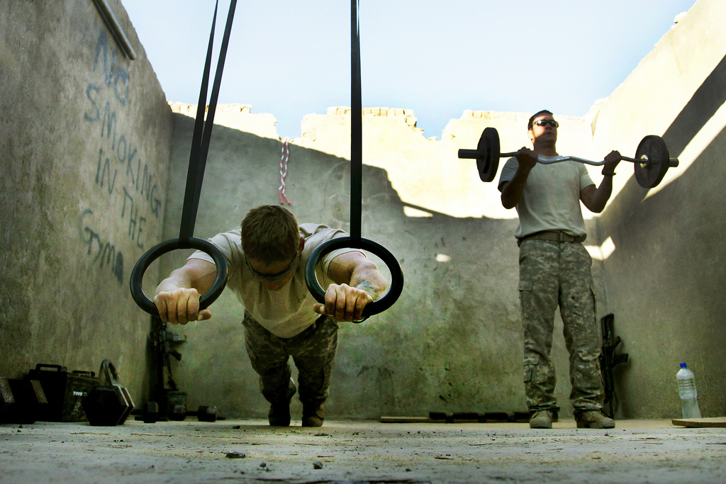 bodyweight exercise alternatives Combat Outpost Munoz