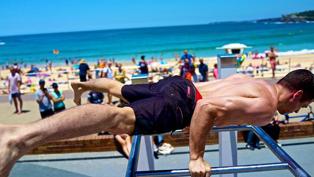 beach amrap training