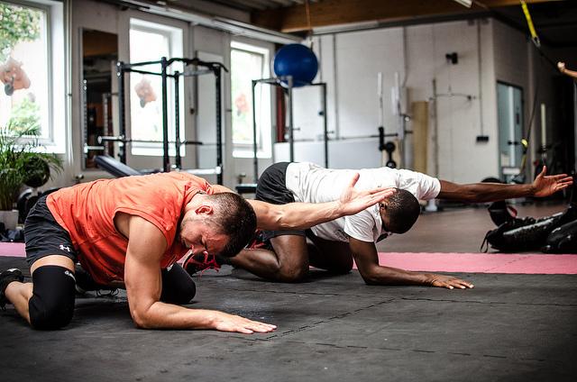 bodyweight circuits stretching