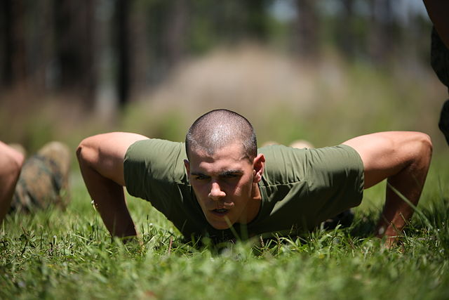 extreme workout pushup