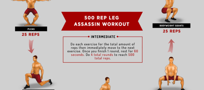 The 500 Rep Leg Assassin Workout