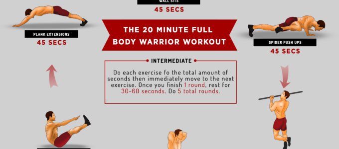 The 20 Minute Full Body Warrior Workout
