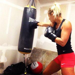 Krista Stryker boxing