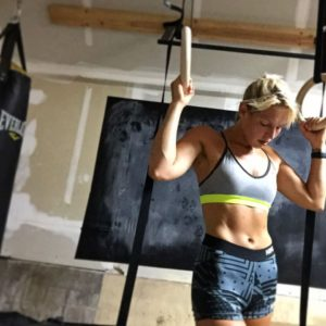 krista stryker holding to rings