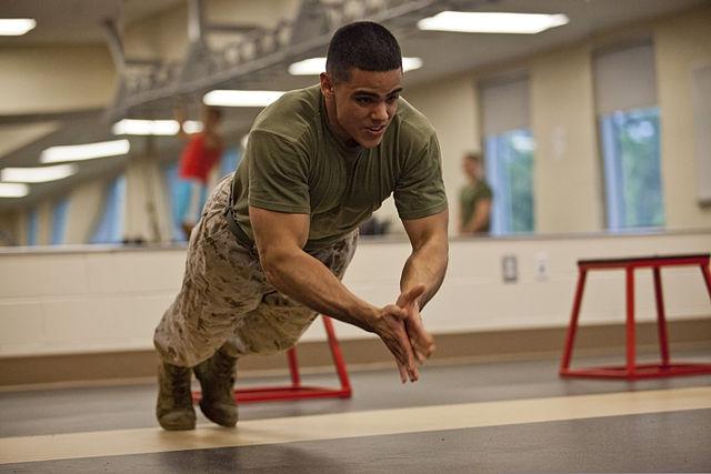 military hardest pushups