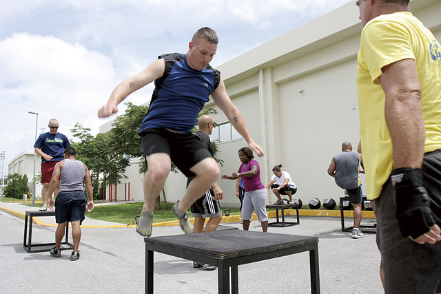 plyometric box jump