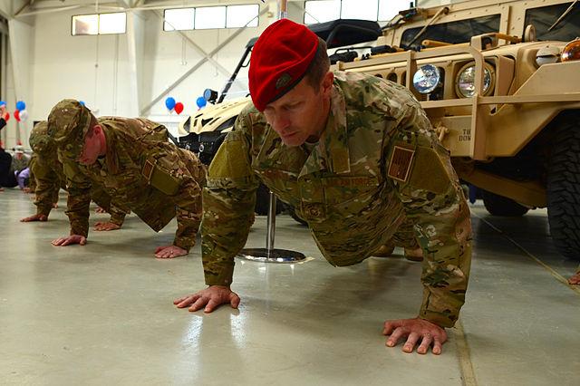 military push ups