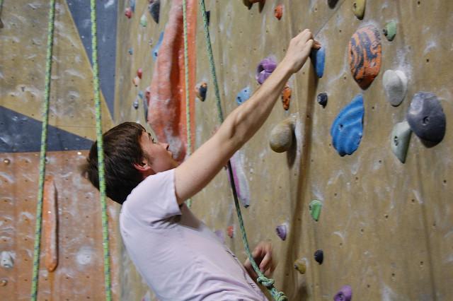 indoor climbing exercise