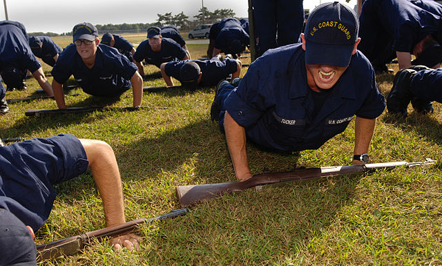 coast guard push ups