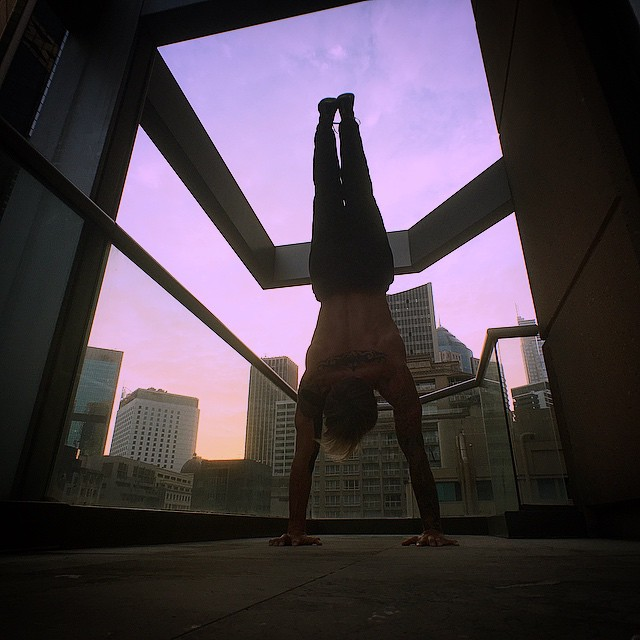 mike fitch hand balancing
