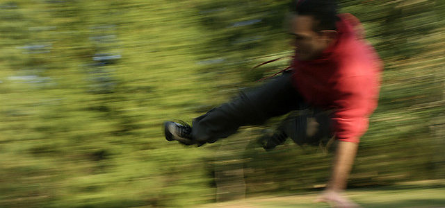 Jump to Strength With Parkour
