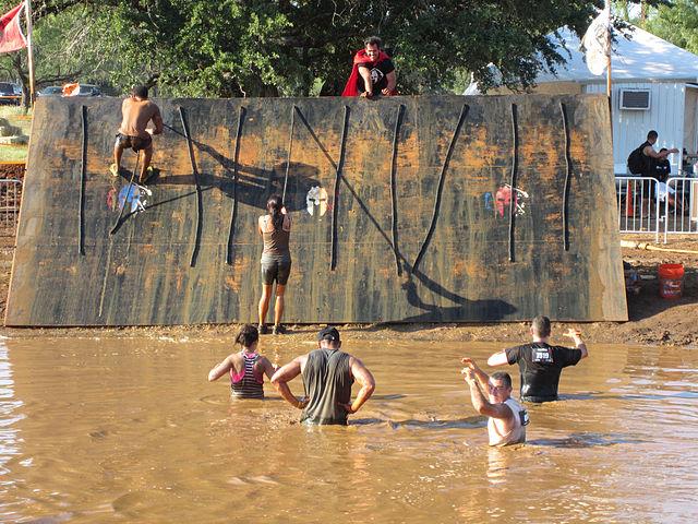 olympic event mud